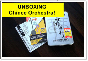 UNBOXING  Chinee Orchestra!